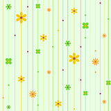 Vector illustration of seamless floral pattern. Flower background