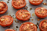 Roasted tomato halves