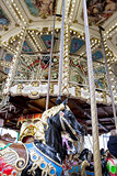 Vintage carousel or merry-go-round