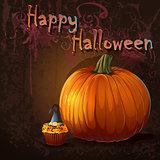 Illyustatsiya for the holiday Halloween