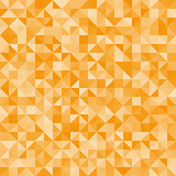 Abstract background orange triangles