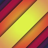 Inclined lines abstract vector background