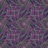 Purple seamless fractal swirling veil pattern