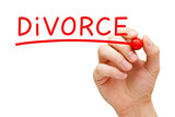 Divorce Red Marker