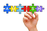 Autism Puzzle Concept