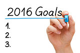 Goals List for 2016