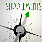 Supplements on green compass