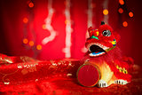 Chinese New Year or Spring Festival decorations