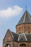Detail of the Sint Nicolaas Church in Nijmegen