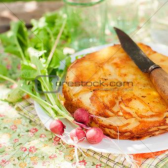 Layered Potato Bake