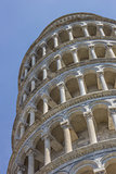 Leaning tower at the Piazza Dei Miracoli in Pisa