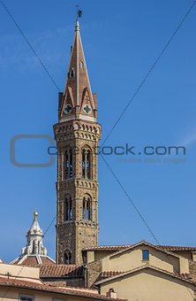 Tower of the Badia Florentina in Florence