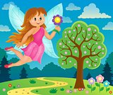 Happy fairy theme image 6