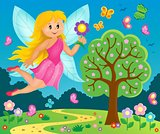 Happy fairy theme image 7