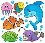 Ocean fauna topic set 1
