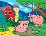 Pig theme image 7