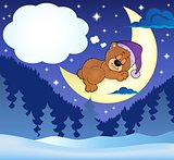 Sleeping bear theme image 9