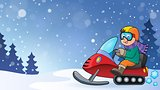 Snowmobile theme image 3