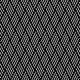Striped diamonds pattern. Seamless texture.