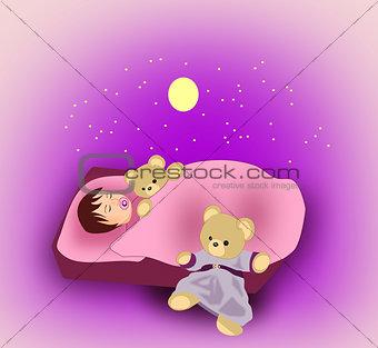 Sleeping little Child