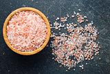 Himalayan salt in bowl
