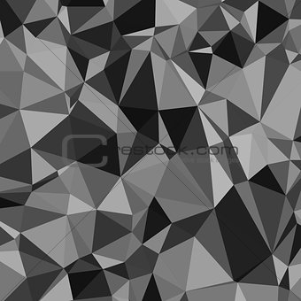Abstract black and white triangle pattern wallpaper background design  Eps 10 vector illustration
