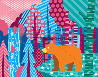 Forest bear
