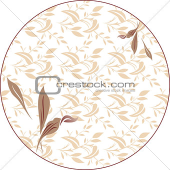 Floral background,floral seamless fabric pattern