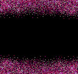 Abstract pink glittering background