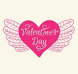 Romance Valentine's day card