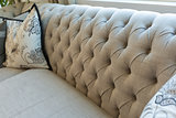 Abstract of Luxurious Couch and Pillow Detail