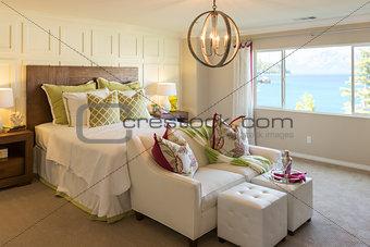 Beautiful Inviting Bedroom Interior