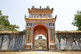 The Gate of Imperial Tomb of Tu Duc