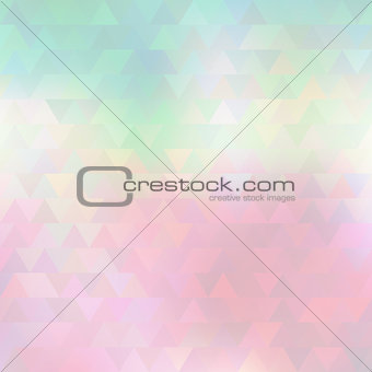 Abstract triangles light pattern