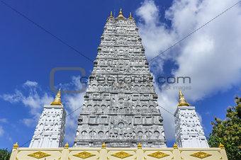 pagoda in the wat suwannapradit Temple in surat thani,thailand