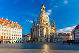 Frauenkirche in the morning, Dresden, Germany