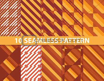 10 seamless pattern