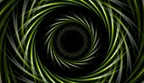 Abstract green vector tech background