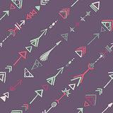Seamless tribal pattern