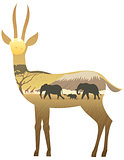 Gazelle Landscape