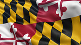 US state flag of Maryland