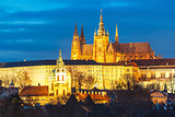 Prague Castle and Mala Strana, Czech Republic