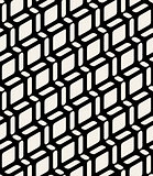 Vector Seamless Black and White Geometric Rounded Rectangle Diagonal Lines