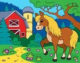 Horse theme image 8