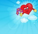 Stylized heart theme image 1