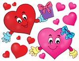 Stylized heart theme image 2