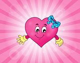 Stylized heart theme image 3