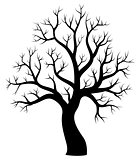 Tree theme silhouette image 1
