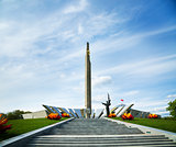 Obelisk Hero City Minsk in Belarus