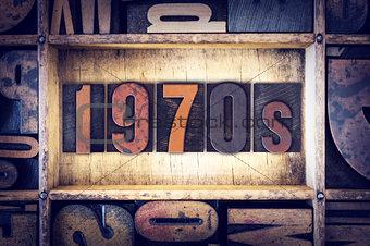 1970s Concept Letterpress Type